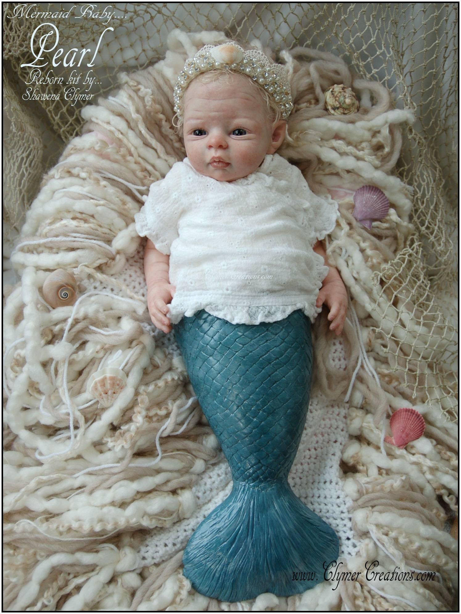 Pearl Mermaid By Shawna Clymer