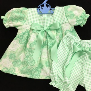 Light Green Floral Dress - 1 Available
