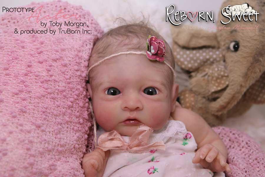 """19/"""" Reborn Doll Parts Kit Morgan"""