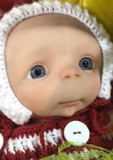 Reborn Baby Doll Supplies Neck Ring 74mm