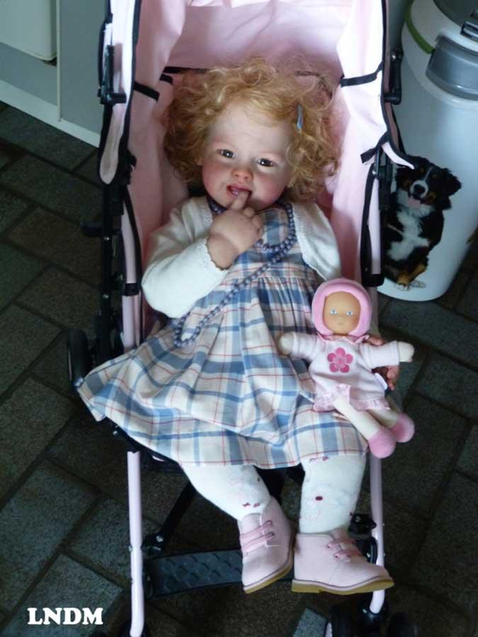 Tifany Reborn Vinyl Doll Kit by Susan Lippl